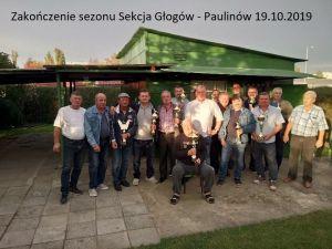 Wręczenie nagród sezon 2019 Sekcja Paulinów