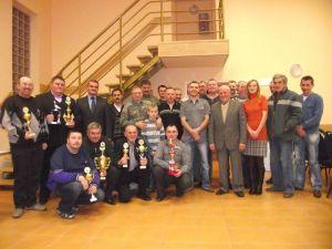 Zakończenie sezonu Sekcja Grębocice 11,12,2011 r.