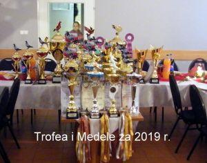 UROCZYSTE WRĘCZENIE NAGRÓD sezon 2019 r. ODDZIAŁ GŁOGÓW